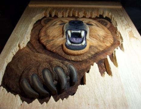 Angry Bear Door 2