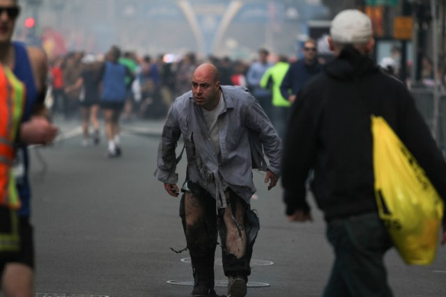 Marathon Explosion