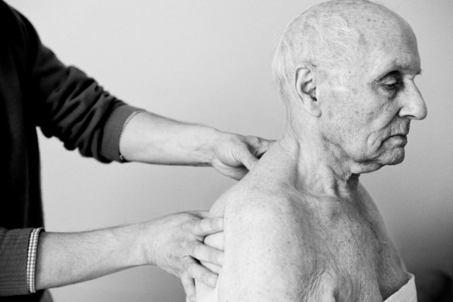 """Manual therapy treatment, from the project """"Russians"""" in Boston"""""""