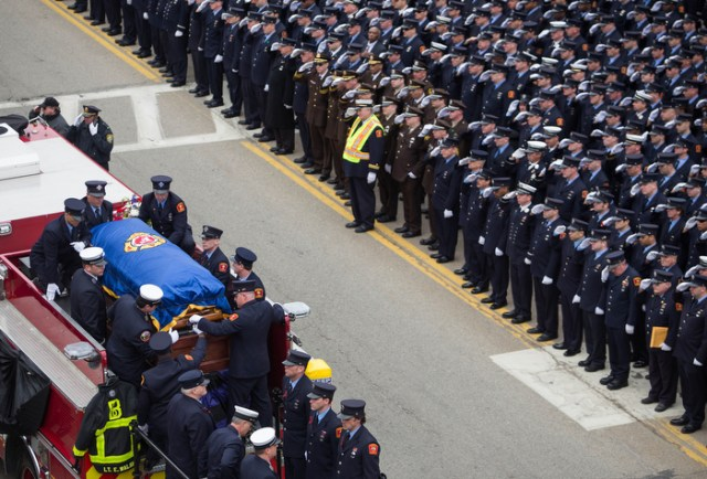 Firefighters' Farewell