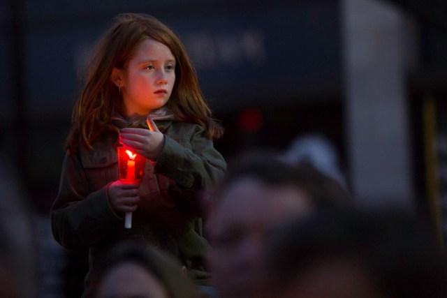 Vigil for Marathon Bombing Victims