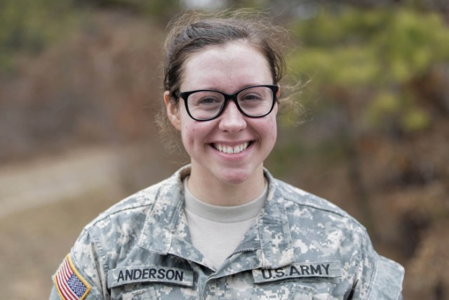 What I Carry - Cadet Anderson