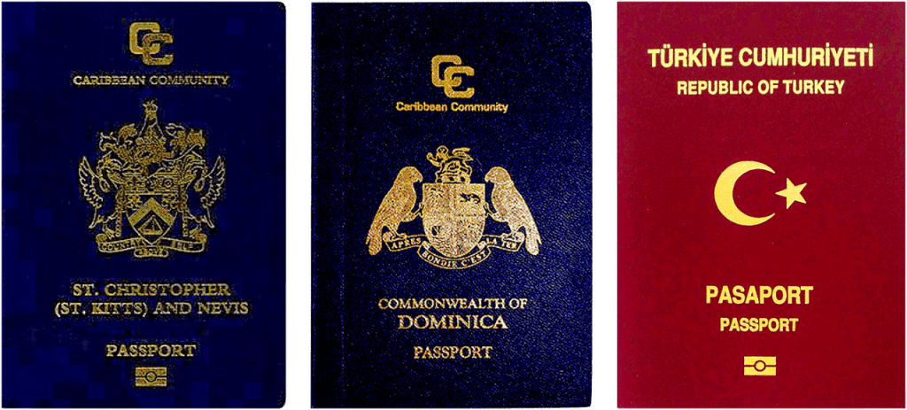 st-kitts-dominica-turkey-passport-citizenship-comparison