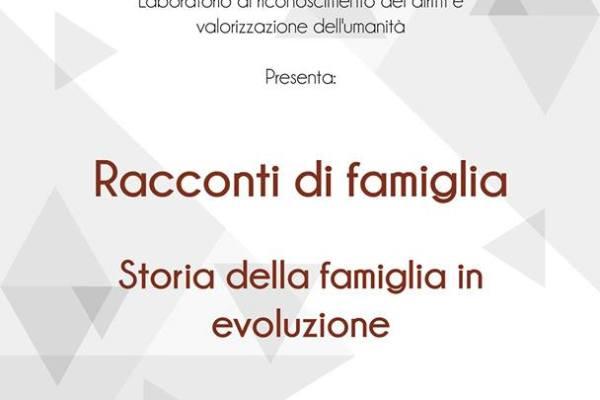 Racconti di famiglia - Storia della famiglia in evoluzione