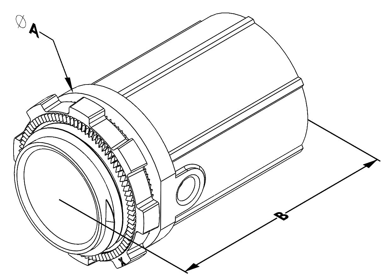 E Z Lock Ac Mc Snap Type Connector 3 4