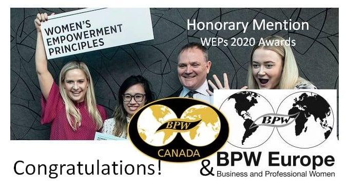 Congratulations BPW Europe