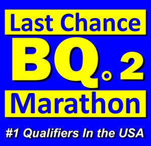 Last Chance BQ2 BQ2 Marathon Races