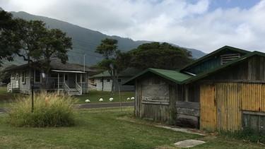 Kalaupapa: huts | Picture: BR / Till Ottlitz