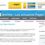 Annuairespagesblanches : Annuaires Pages Blanches