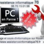 Assistance informatique 76 : Dépannage informatique sur Rouen