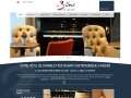 Les 3 lieux : hotel et restaurant Angers
