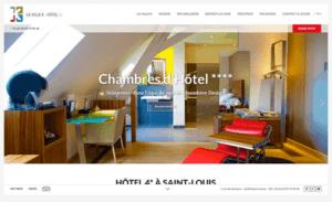 La villa K, un site créé par l'agence web oboqo