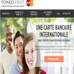Toneofirst : carte bancaire internationale