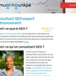 Samuel Hounkpe : consultant SEO