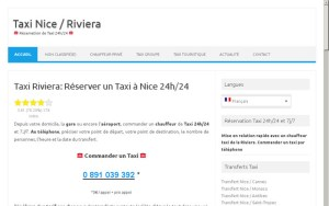 Taxis Riviera