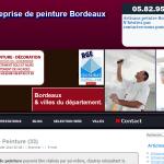 Entreprise de peinture Bordeaux : partenaire pour vos travaux de rénovation