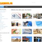ClicDevis : devis en ligne pour travaux d'aménagement et de rénovation