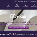 Papeteries Montségur : fabricant français de papier de soie