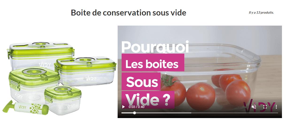 Toutsousvide : appareils pour préparer et conserver les aliments