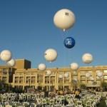 Location bouteille hélium pour ballon publicitaire