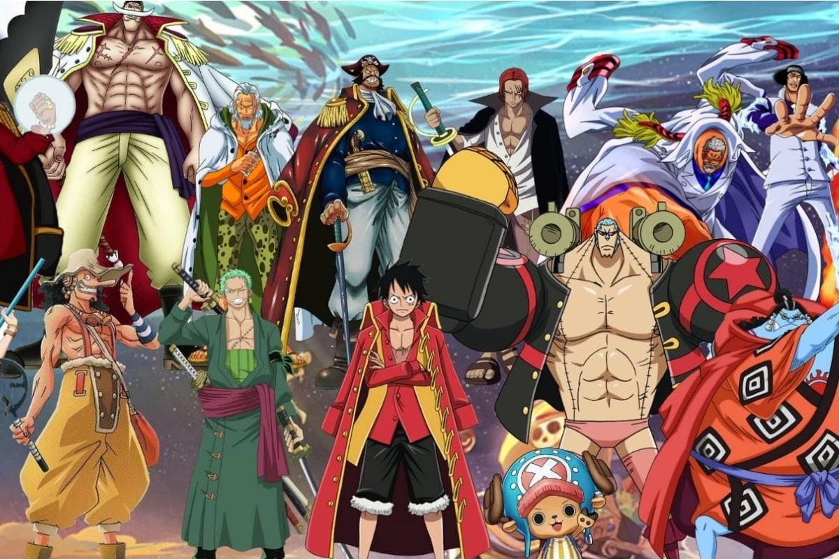 Boutique-One Piece : des tableaux muraux originaux en cinq parties