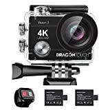 Dragon Touch : Caméra sport 4k avec télécommande