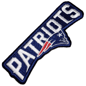 NFL Liga Nacional de Futebol EUA FSB003 Patch Bordado