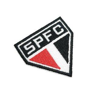 Escudo Futebol Paulista SP Patch Bordado Termo Adesivo