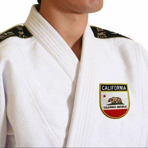 Bandeira Califórnia EUA Patch Bordada passar a ferro costura
