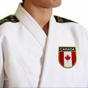 Bandeira país Canada Patch Bordada passar a ferro ou costura