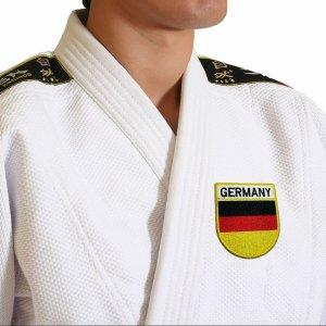 Bandeira país Alemanha Patch Bordada passar a ferro, costura