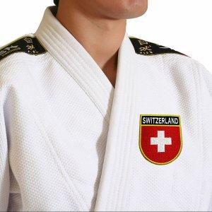 Bandeira país Suíça Patch Bordada, passar a ferro ou costura
