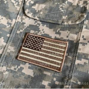 Bandeira EUA Patch Bordada passar a ferro ou costura