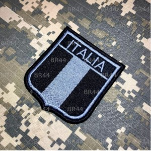 BEIN013 Bandeira Itália Patch Bordado Termo Adesivo