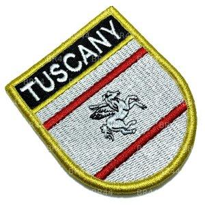 BE0229EV 01 Bandeira Toscana Patch Bordada Fecho Contato