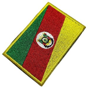BE0019T 01 Rio Grande Do Sul RS Patch Bordado Termo Adesivo