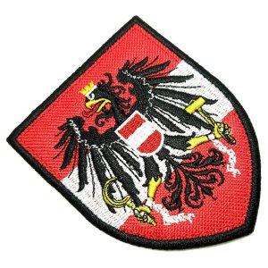 TIAT001T 01 Austria patch bordado passar a ferro ou costura