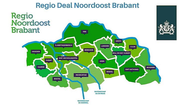 €10 miljoen voor leefbaarheid in Noordoost Brabant