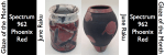 Spectrum Phoenix Red – June Raku Glaze of the Month