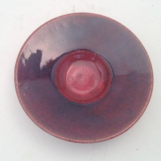 Phoenix Red under espresso
