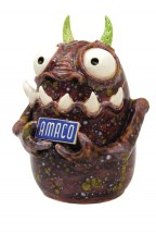 Cat Audette Holt of Claymonster Pottery used CTL glazes on this monster