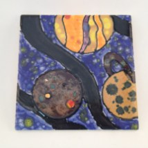 variety of CTL Glazes used on this tile, which was decorated at Bracker's 30th Anniversary celebration