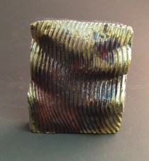 Copper Patina, 1 coat, reduced in Pine Needles