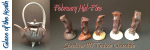 Texture Chocolate – February Mid-Fire Glaze of the Month