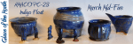 AMACO PC-21 Indigo Float, March Mid-Fire Glaze of the Month