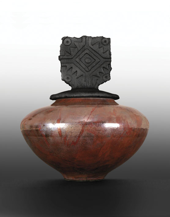 AMACO Copper Matte, Pot by George Dibeky, photo compliments of AMACO