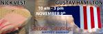 Nick Vest & Gustav Hamilton, November Featured Artists