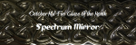 Spectrum Mirror: October Mid-Fire glaze of the month