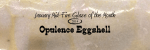 Opulence 611 Eggshell – January Mid-fire glaze of the month