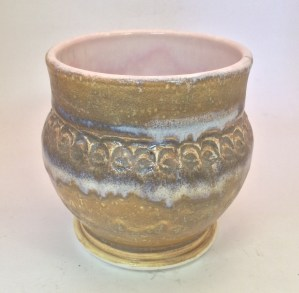 909 Camel with O54 Dusty Rose over (pot created by Marsi Mi)